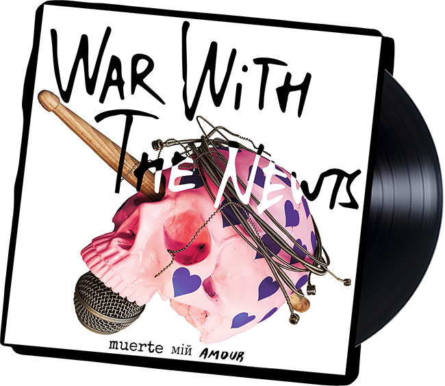 War with the Newts Album Muerte Min Amour Vinyl LP